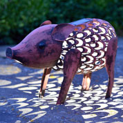 animal decoratif lumineux - cochon