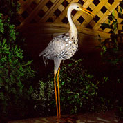 animal decoratif lumineux - heron