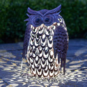 animal decoratif lumineux - hibou