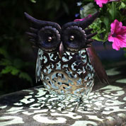 animal decoratif lumineux - petit hibou